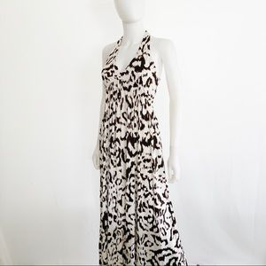 Diane Von Furstenberg Franz Silk Blend Maxi Dress